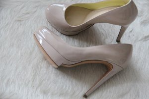 Pollini High Heels Pumps 37,5 Nude-Ton