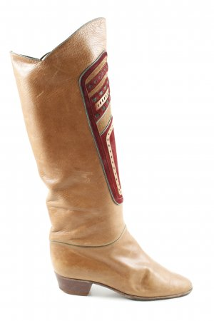 Pollini Western Boots light orange-red casual look