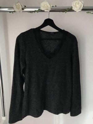 Vero Moda Long Sweater anthracite-black
