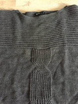 Flame Short Sleeve Sweater grey