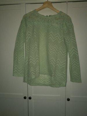 Polluver.Shirt spitze hellgrün