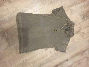 17&co Polo Shirt grey brown