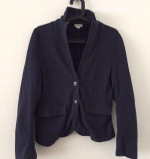 U.s. polo assn. Blazer en laine bleu foncé coton