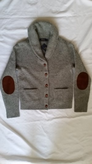 Polo by Ralph Lauren, Cardigan, Wolle, grau, Gr. M, neu, € 250,-