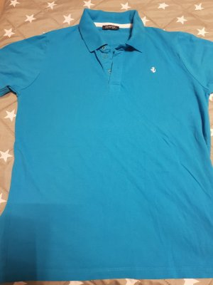 Polo bleu clair
