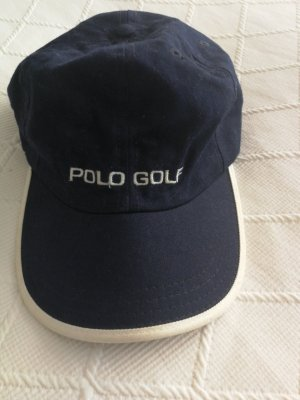 Polo Sport Baseball Cap white-dark blue