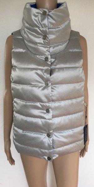 Polo Golf Ralph Lauren, Daunenweste, Silber/Blau, S, neu, € 250,-