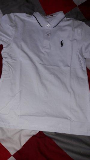 Polo Ralph Lauren Sportshirt wit-donkerblauw