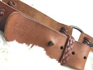 Polo Jeans Cintura di pelle marrone