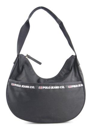 1ffd04b0b3fc7 Polo Jeans Co. Ralph Lauren Handtasche schwarz 80ies-Stil