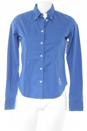 Polo Jeans Co. Ralph Lauren Hemd-Bluse stahlblau Casual-Look
