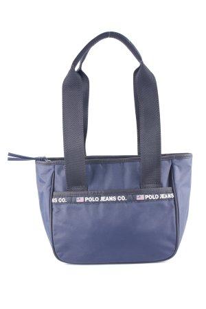 Polo Jeans Co. Ralph Lauren Henkeltasche dunkelblau-schwarz Casual-Look