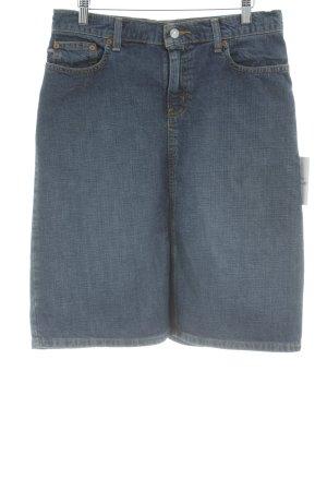 Polo Jeans Co. Ralph Lauren Jeansrock graublau Vintage-Look