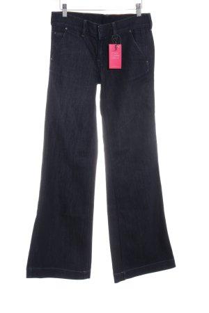 Polo Jeans Co. Ralph Lauren Jeans flare bleu foncé moucheté style rétro
