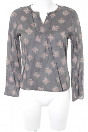 Polo Jeans Co. Ralph Lauren Langarm-Bluse florales Muster Casual-Look