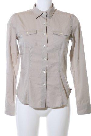 Polo Jeans Co. Ralph Lauren Langarmhemd hellgrau Business-Look