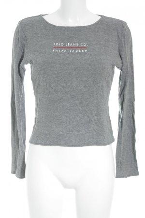 Polo Jeans Co. Ralph Lauren Longsleeve Schriftzug gedruckt Casual-Look