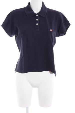 Polo Jeans Co. Ralph Lauren Polo-Shirt dunkelblau Casual-Look