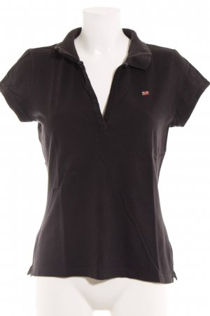 Polo Jeans Co. Ralph Lauren Polo-Shirt schwarz Casual-Look