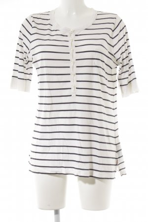 Polo Jeans Co. Ralph Lauren Stripe Shirt white-dark blue striped pattern