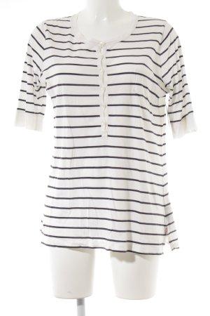 Polo Jeans Co. Ralph Lauren Maglietta a righe bianco-blu scuro motivo a righe