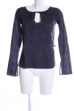 Polo Jeans Co. Ralph Lauren Schlupf-Bluse lila Casual-Look