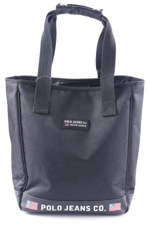 Polo Jeans Co. Ralph Lauren Schultertasche schwarz schlichter Stil