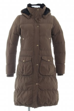 Polo Jeans Co. Ralph Lauren Manteau matelassé brun motif de courtepointe