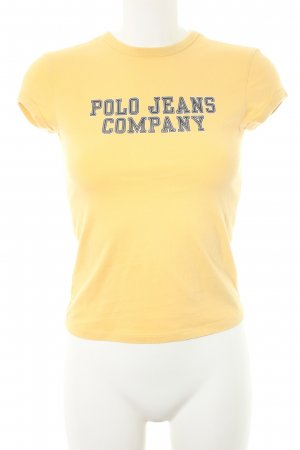 Polo Jeans Co. Ralph Lauren Camiseta letras impresas look casual