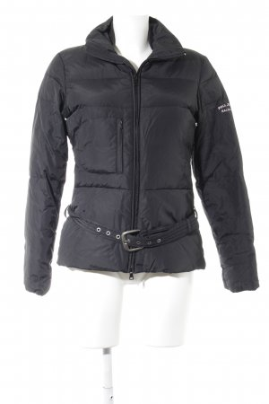 Polo Jeans Co. Ralph Lauren Winterjacke schwarz-rosé Casual-Look