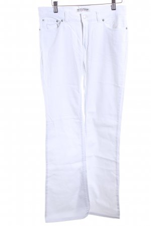 Polo Jeans Company Boot Cut Jeans weiß Casual-Look