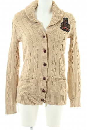 Polo Jeans Company Cardigan creme Casual-Look