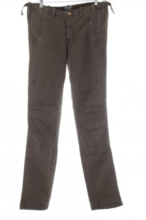 Polo Jeans Company Pantalón de camuflaje marrón look casual