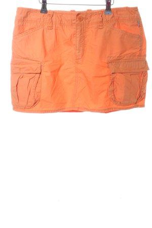 Polo Jeans Company Jupe cargo orange clair style décontracté