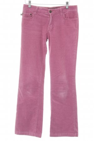 Polo Jeans Company Corduroy broek roze casual uitstraling