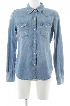 Polo Jeans Company Jeans blouse neon blauw casual uitstraling