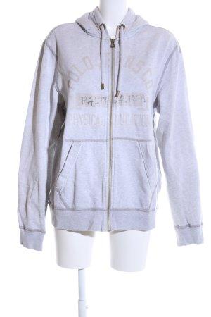 Polo Jeans Company Kapuzensweatshirt hellgrau Allover-Druck Casual-Look