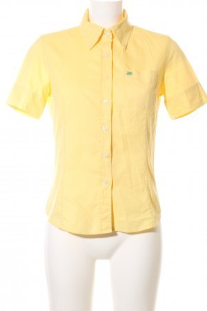 Polo Jeans Company Camisa de manga corta amarillo pálido look casual
