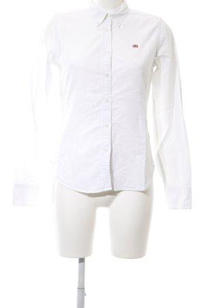 Polo Jeans Company Langarmhemd weiß Business-Look