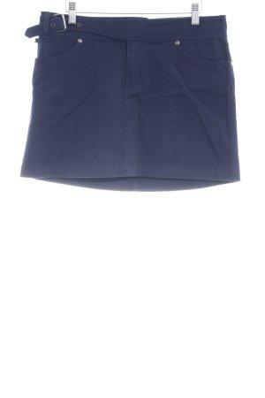 Polo Jeans Company Minirock dunkelblau Casual-Look