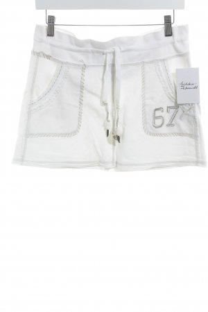 Polo Jeans Company Minirock weiß-beige Casual-Look