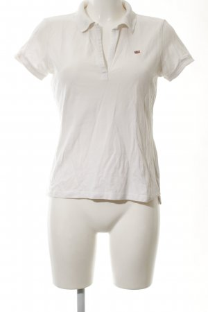 Polo Jeans Company Polo-Shirt weiß Casual-Look