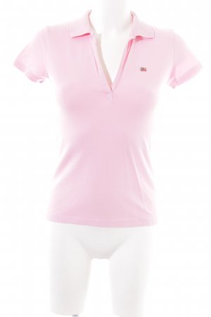 Polo Jeans Company Polo-Shirt pink Casual-Look