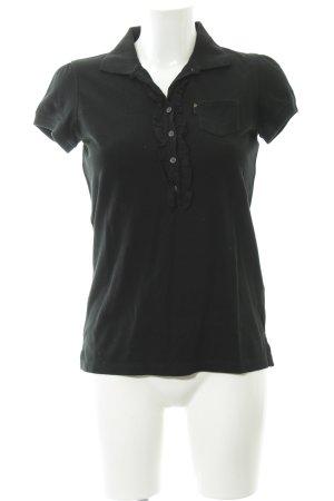 Polo Jeans Company Polo-Shirt schwarz Casual-Look
