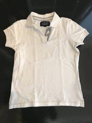 Polo Jeans Company Ralph Lauren Poloshirt weiß Gr. S