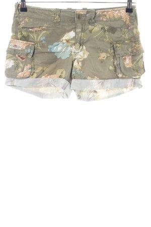 Polo Jeans Company Shorts khaki Blumenmuster Casual-Look