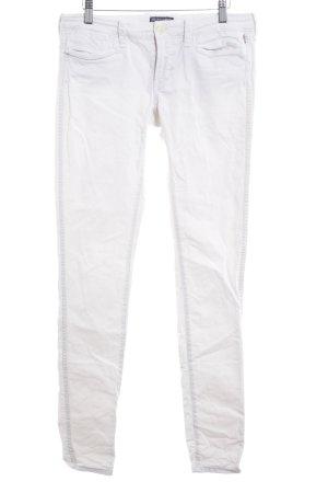 Polo Jeans Company Slim Jeans weiß Logo-Applikation