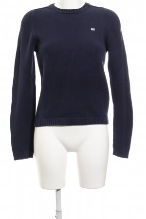 Polo Jeans Company Strickpullover dunkelblau Casual-Look