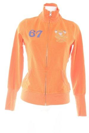 Polo Jeans Company Sweatjacke orange Casual-Look