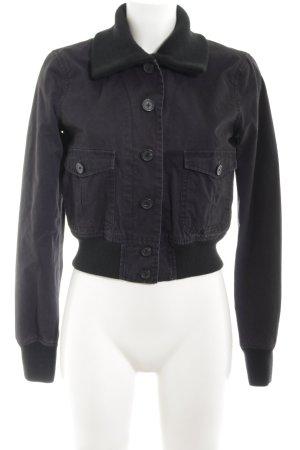 Polo Jeans Company Übergangsjacke schwarz Casual-Look